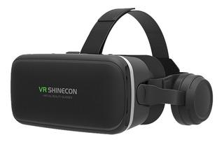 Lente Vr Box Realidad Virtual 3d + Headset Auriculares