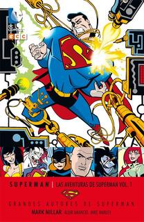Aventuras De Superman 01 Millar Dc Ecc Comics - Robot Negro