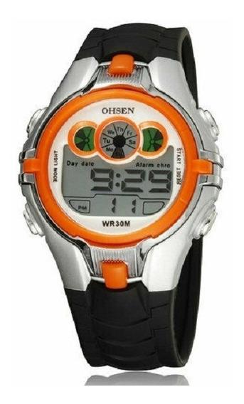Relógio Masculino Digital Ohsen À Prova D