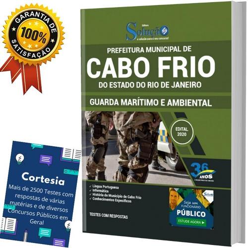 Apostila Prefeitura Cabo Frio Rj - Guarda Ambiental