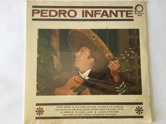 Pedro Infante, Asi Cantaba A Sus Chorreadas, Disco De 12`.