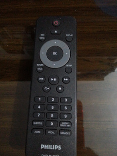 Philips- Dvd Player. Control Remoto.