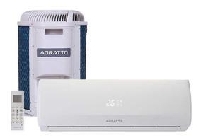 Ar Condicionado Split On/off Agratto Fit Top 9000btus 220v F
