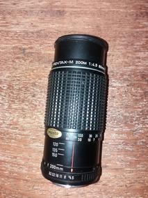 Lente Pentax M 80 200mm F 4.5
