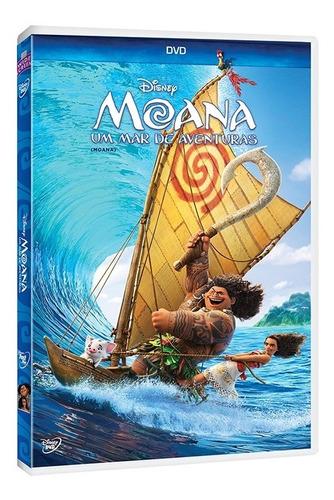 Dvd - Moana: Um Mar De Aventuras