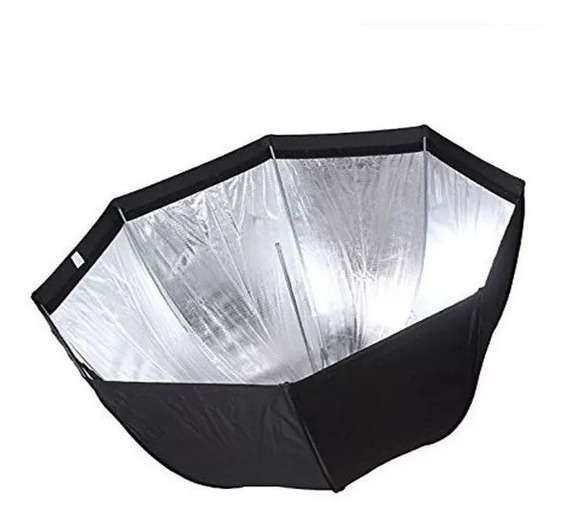 Octabox Softbox 80cm Universal Tipo Sombrinha P/ Flash Tocha