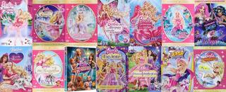 Barbie Princesas Bailarinas Colección 14 Películas Dvd Envío