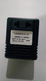 Transformador Conversor Ac - Ac 220v / 110v - 30w