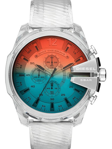 Reloj Diesel Mega Chief Dz4515 Hombre Cronógrafo Original