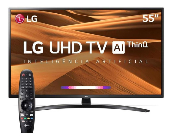 Smart Tv Led 55´ Uhd 4k Lg Conversor Digital 4 Hdmi-55uk631c