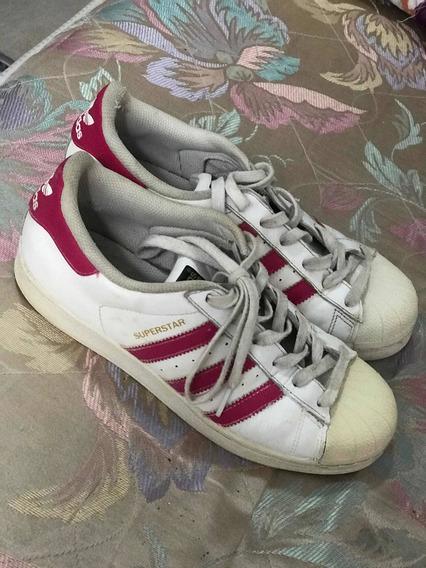 Zapatillas adidas Rosa Super Star