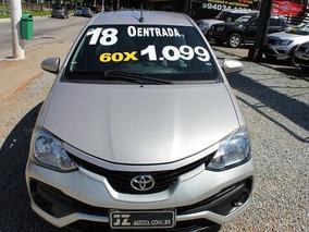 Etios Sedan Xs 1.5 Automático - Zero Entrada 60x 1.099,00