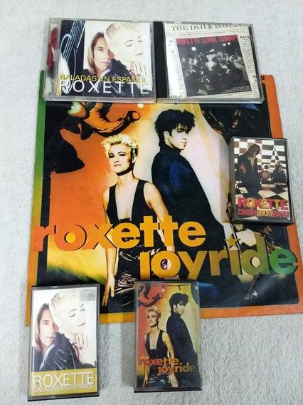 Vinilo-roxette-cd-cassette-lote-onda Cure-mode-abba-madonna