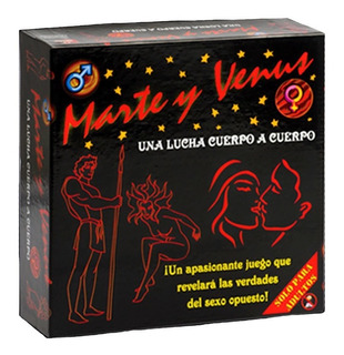 Juego Mesa Marte Y Venus Guerra Sexos Habano Cuerpo A Cuerpo