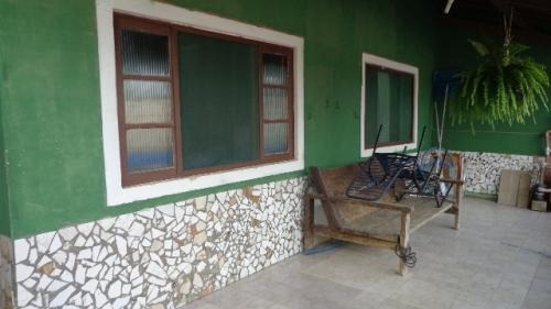 Casa Com Churrasqueira E Piscina - Apenas 130mil