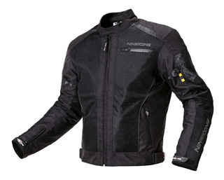 Campera Moto Ruta Cordura 4 Estaciones Nine To One Fusion