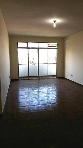 Apartamento 2 Dormitórios Para Alugar, 112 M² Por R$ 2.500/mês - Aparecida - Santos/sp - Ap0171