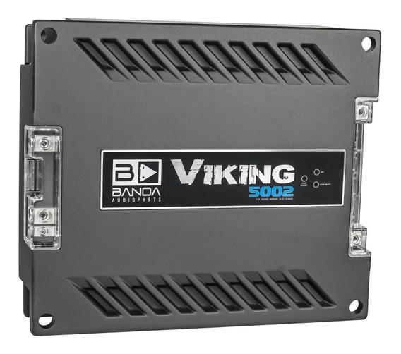 Módulo Amplificador Banda Viking 5002 5000 2 Ohms 1 Canal