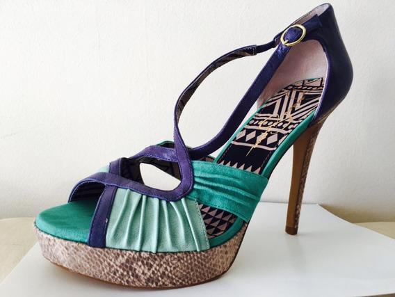 Jessica Simpson Plataforma Zapatos Sandalias Num 41 No Guess