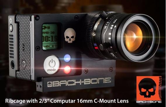 Camera Gopro Hero4 Black Modificada Para Lentes Universais