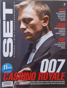 Revista Set 234 Cinema E Vídeo 007 Cassino Royale James Bond