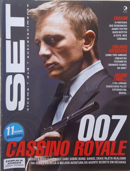 Revista Set 234 Cinema E Vídeo 007 Cassino Royale James Bond