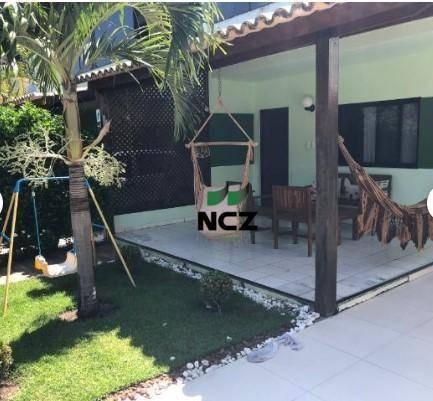 Casa Com 3 Dormitórios À Venda, 126 M² Por R$ 540.000,00 - Stella Maris - Salvador/ba - Ca3234