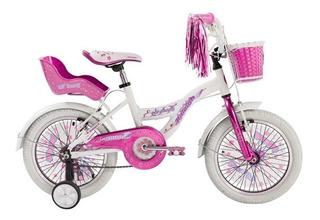 Bicicleta Raleigh Lilhon R16 Nena Aluminio Con Rueditas