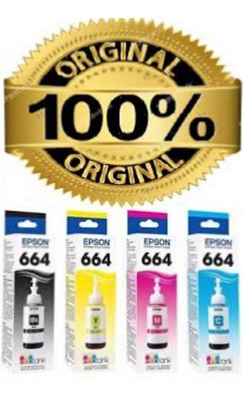 Tinta Refil 664 Epson L395 L200 L210 L365 L380 L575 L375