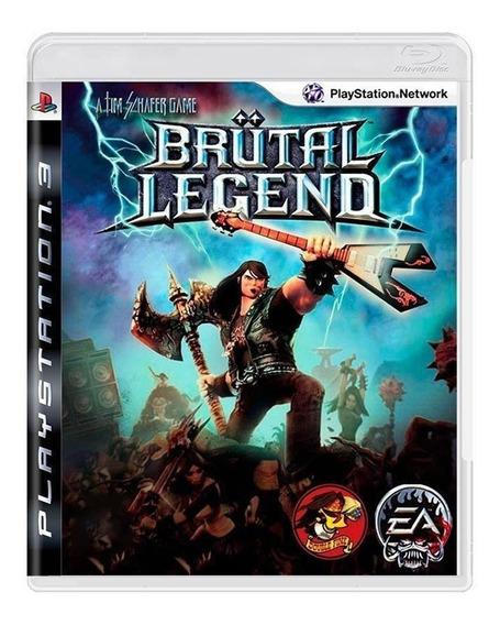 Jogo Brutal Legend - Ps3- Original - Usado - Midia Fisica