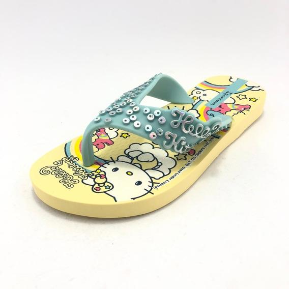 Ojota Hello Kitty Amarilla - Ipanema