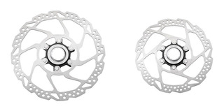 Par Disco Freio Rotor Shimano Rt54 160mm 180mm Center Lock