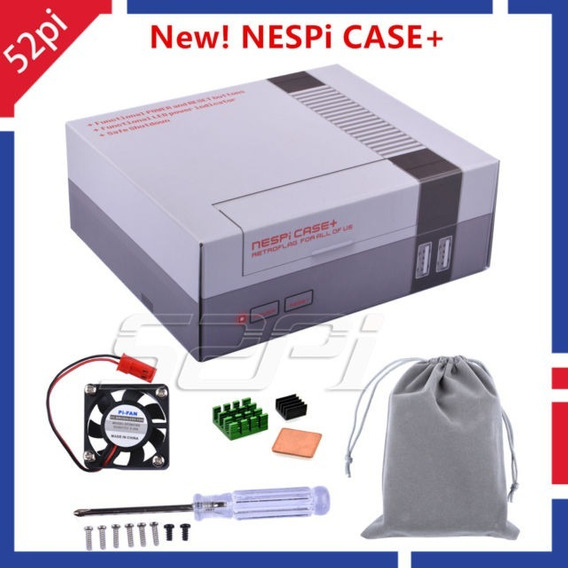 Retroflag Nespi Case Plus Com Safe Shutdown