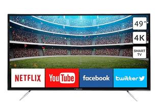 Smart Tv 49 4k Ultra Hd Hdmi + Usb Sintonizador Ramos Mejia
