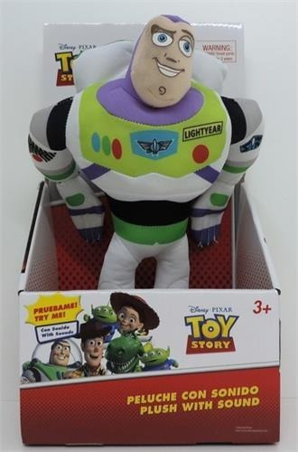 Muñeco Peluche Toy Story Woody O Buzz 30cm Con Sonidos Wabro