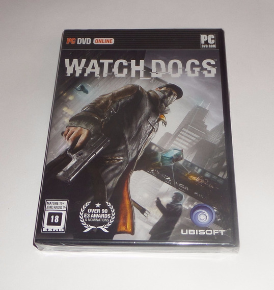 Watch Dogs Original Lacrado Mídia Física Pc