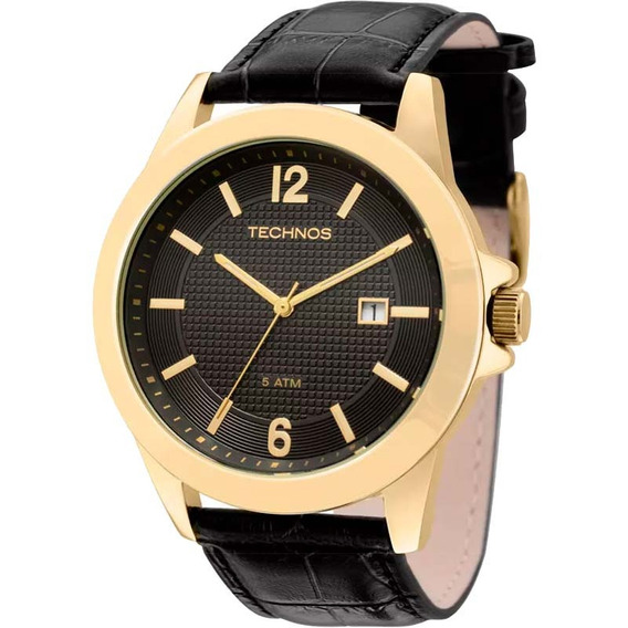 Relógio Technos Masculino Classico De Couro 2115kno/2p