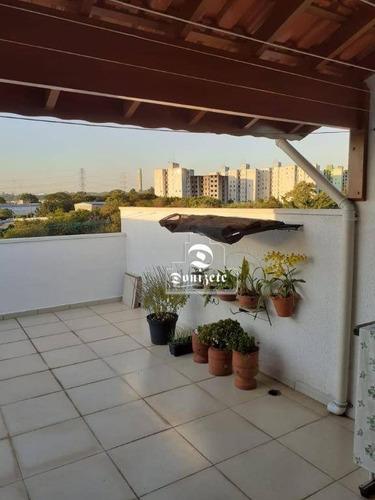 Cobertura À Venda, 74 M² Por R$ 251.000,00 - Parque Marajoara - Santo André/sp - Co11436