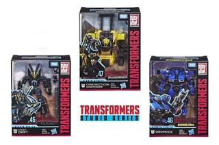 Transformers Studio Series 3pack Nuevo Envio Gratis 45 46 47