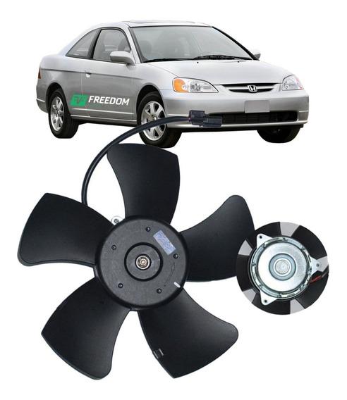 Ventoinha Eletroventilador Motor Honda Civic 1.7 2001/2006