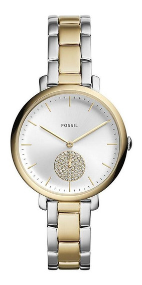 Relógio Fossil Feminino Jacqueline Bicolor Es4439/1kn