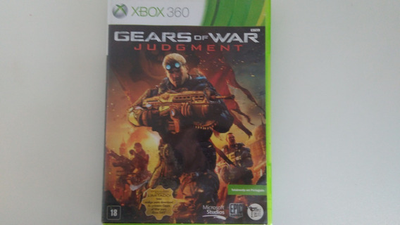 Jogo Gear Of War Do Xbox 360 Original