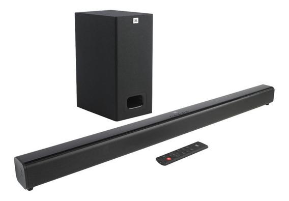 Soundbar Jbl Cinema Sb130 2.1 E Subwoofer Reprodução Dolby