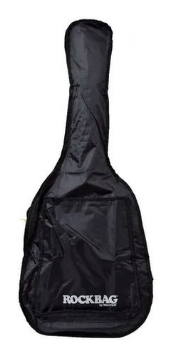 Bag Capa Para Violão Folk Rockbag Ecoline Black