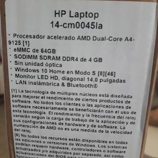 Notebook Hp 14_cm0045la
