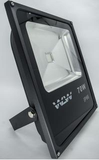 Refletor De Led 70w Luz Azul Ip66