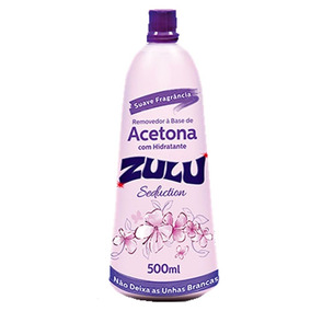Zulu Seduction Removedor A Base De Acetona 500ml