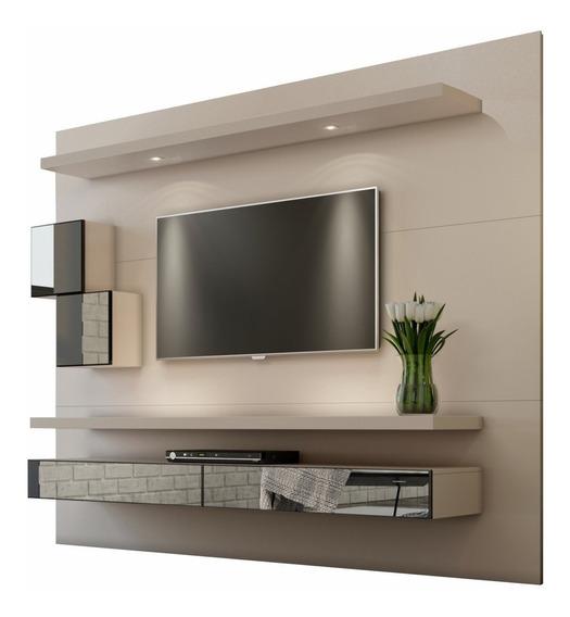 Painel Para Tv Fendi Com Espelho Tb110e - Dalla Costa