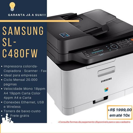Impressora Multifuncional Samsung Cx 480 Fw