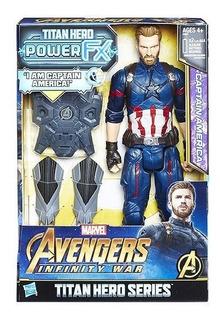 Avengers Capitán América Figura 30 Cm Original Hasbro